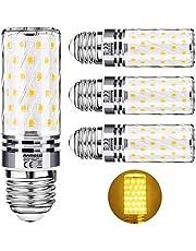 Anmossi E27/E14 LED Lampe,12W LED Maïsbol,Gelijk aan 100W Gloeilamp,1200Lm,3000K-6000K,Niet Dimbaar,Edison Schroef LED E27/E14 Lamp,Verpakking van 4