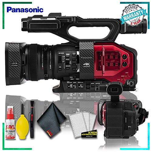 Read About Panasonic AG-DVX200 4K Handheld Camcorder with LED Light & LCD Touchscreen + Cleaning Kit...