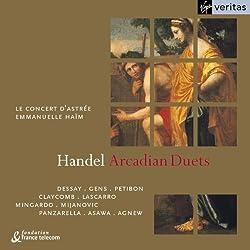 Handel - Arcadian Duets / Dessay, Gens, Petibon, Claycomb, Lascarro, Panzarella, Mijanovic, Mingardo, Asawa, Agnew, Le Concert d'Astrée, Haïm