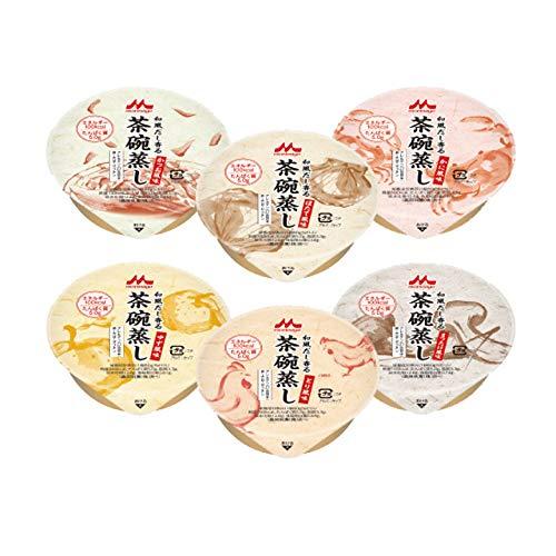 【お試し6個セット】 和風だし香る茶碗蒸し かつお/かに/ほたて/ゆず/とり/まつたけ風味 各1個