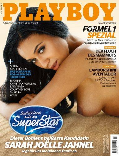 Playboy 04/2013- Deutsche Ausgabe: Dieter Bohlens heißeste Kandidatin Sarah Joëlle Jahnel