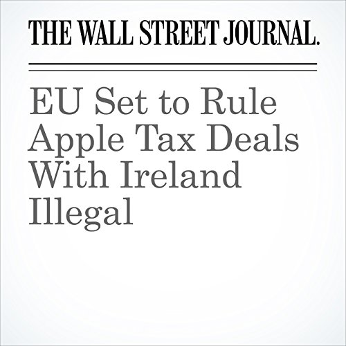 EU Set to Rule Apple Tax Deals With Ireland Illegal cover art