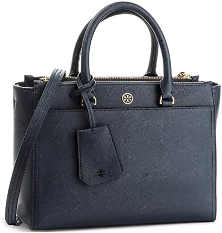 Tory Burch Women's Small Robinson Double-Zip Leather Top-Handle Bag