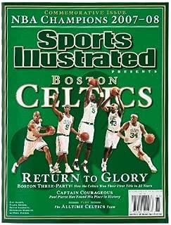 Football Fanatics Boston Celtics 2007-2008 NBA Champions Sports Illustrated Commemorative Edition
