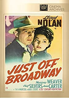 JUST OFF BROADWAY by Brett Halliday