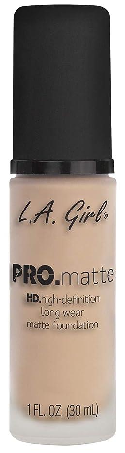 遺棄された別に高層ビルL.A. GIRL Pro Matte Foundation - Porcelain (並行輸入品)