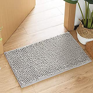 60cm AMOY TANG Bathroom Mats Cobblestone Suction Pad Flannel Doormat Kitchen Mat 40