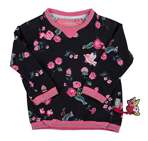 Sigikid Mädchen Sweat Shirt, Mini Sweatshirt, Grau (Phantom 266), 122