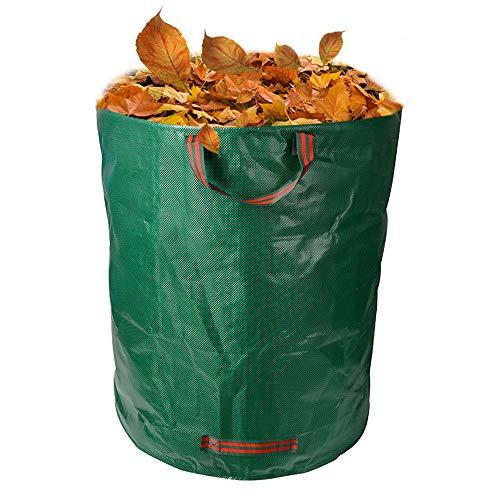 Buy Bargain Outdoor supplies Garden Sack Heavy Duty with Handles, Reusable Foldable Home Yard Green ...