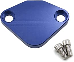 Alpha Rider block off PLATE COVER CAP For Honda Accord 1990-up PRELUDE 1992-up EGR clean engineer bar (Blue)