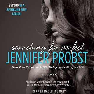 Searching for Perfect audiobook cover art