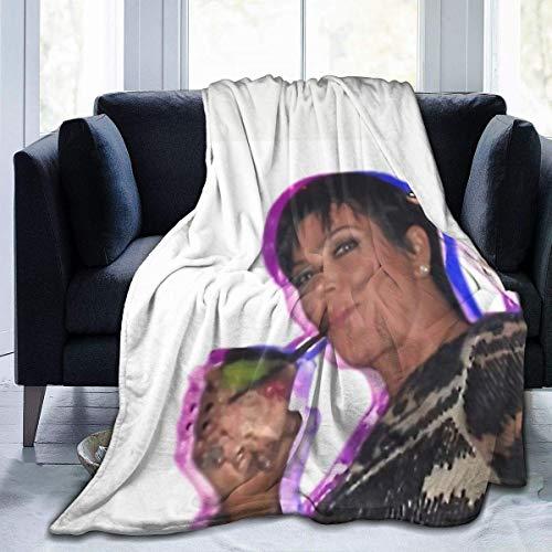 wenhe Peace Super Soft Sheep Decke, geeignet für Erwachsene oder Kinder Sofa oder Bett