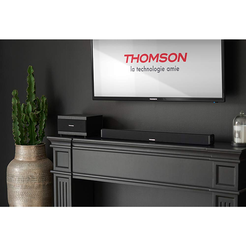 Barra de Sonido THOMSON AV SB100BT Bluetooth, 90W, USB, RCA: Amazon.es: Electrónica
