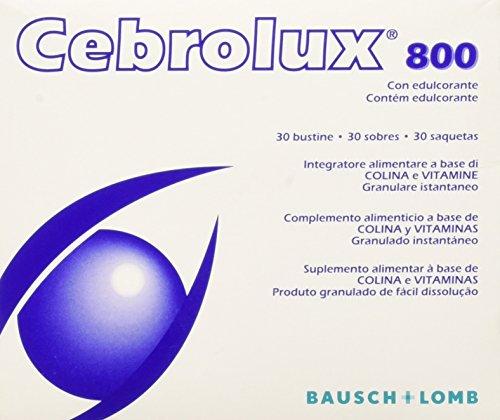 Bausch & Lomb Iom Cebrolux 800 Integratore Alimentare per la Vista - 30 Bustine