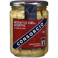 Consorcio Bonito en Aceite de Oliva - 3 Paquetes de 400 gr - Total: 1200 gr
