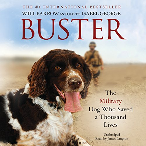 Buster audiobook cover art