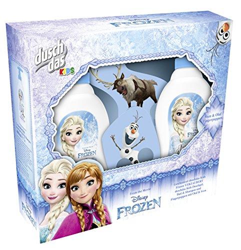 Duschdas Geschenkset Frozen Duschbad (mit Fingerpuppe) 2 x 400 ml