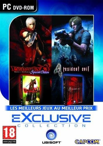Collection exclusive: Devil may cry 3 + Resident evil 4 [Importación francesa]