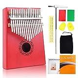 Craftsman168 Kalimba Daumenklavier mit 17 Tasten Fingerklavier für Kinder
