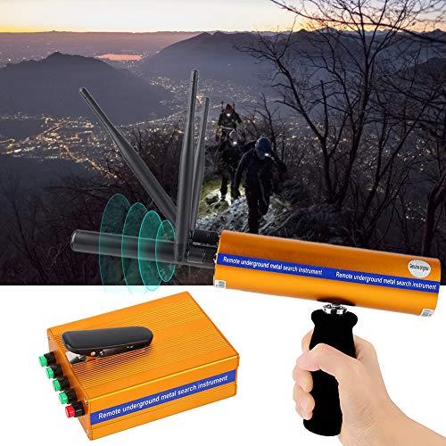 Nannday Professional Metal Gold Detector, AKS Rechargeable Metal Detector Locator Finder Treasure Scanner 1400Meters 100-240V(US)
