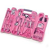 Diluma Werkzeugkoffer Frauenpower 149 teiliges Werkzeugset in Pink - originelle Geschenkidee für Frauen