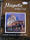 Travel Destinations Coliseumdeluxe Single Magnetic Page Clip Bookmark Re-marks