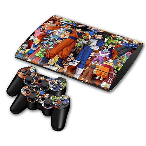 BLOUR Neue Ankunft Aufkleber für PS3 Slim 4000 coolen Stil Spiel Aufkleber