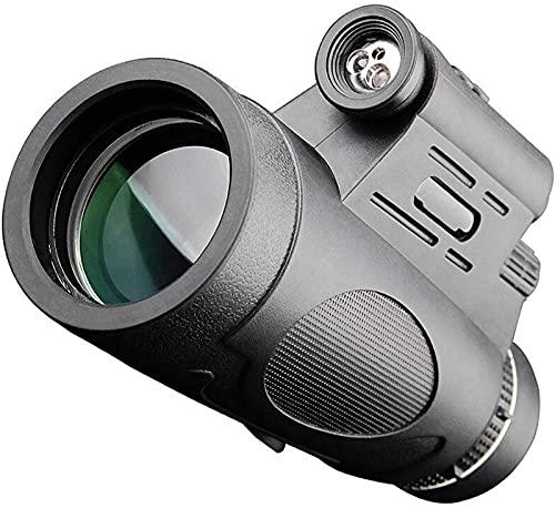 LXHJZ Binoculares portátiles 12x50 HD Binoculares Alta Potencia Binoculares Militares Caza al Aire Libre Escalada Fotografía Monocular para observación Aves Adultas Caza al Aire Libre Viajes