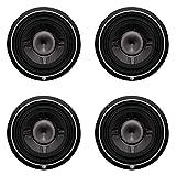 Rockford Fosgate P3SD2-12 12-inch 800 Watts Dual 2 Ohm Car Shallow/Slim Audio Subwoofer Sub (4 Pack)