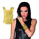 Amakando Bijoux Cléopâtre - doré | Bracelet Serpent égyptien | Accessoire déguisement Pharaon | Parure à thème Antiquité