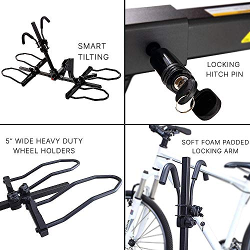 Overdrive Sport hitch rack for eBikes
