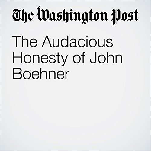 The Audacious Honesty of John Boehner copertina