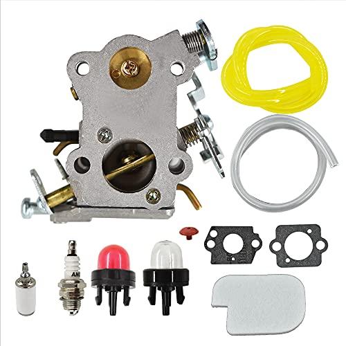 XGFWH Carburetor 545070601 Carb for Poulan SM4218AVX SM4518AVX P4018WTL PP3516AVX PP4218AVX Poulan Chainsaw P3314 P3416 P3816 P4018 P4018AV PP3416 PP3516 PP3816 PP4018 PP4218 PP4218AVPPB4018 PPB421