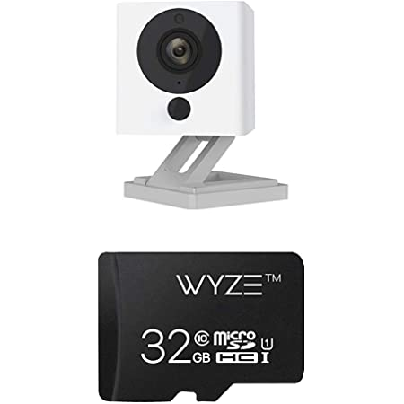 Wyze Cam v2 1080p Indoor Smart Home Camera with Wyze 32GB MicroSD Card Class 10