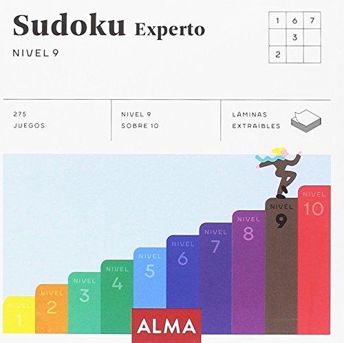 Sudoku Experto. Nivel 9: 25 (Cuadrados de diversión)