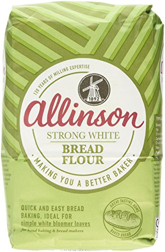 Allinson Strong White Bread Flour, 1.5kg (Grocery)