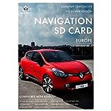 Carte SD de Navigation en Direct Renault Carminat Live | Dernière Mise à Jour 2020 | Carte Renault Sat Nav pour l'europe