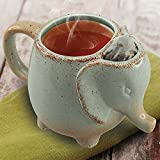 15oz Elephant Tea Mug Green