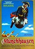 Münchhausen - Hans Albers - Brigitte Horney - Filmposter