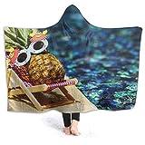 AEMAPE Gafas de Sol Pineapple in The Pool Manta con Capucha