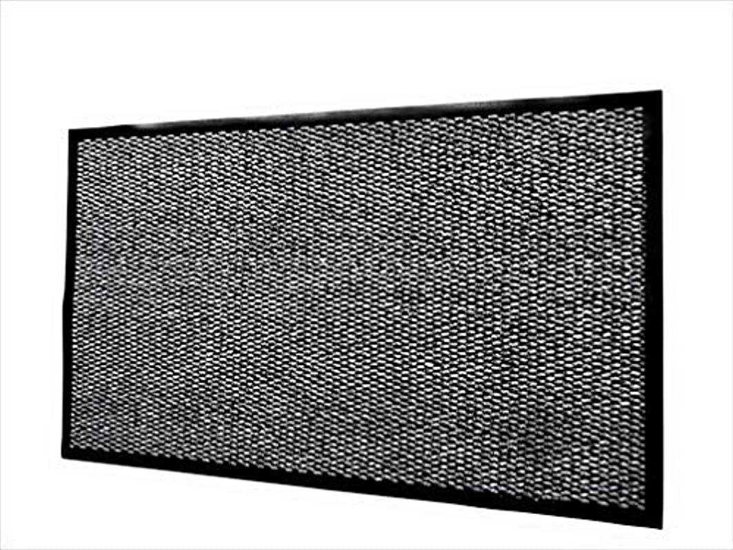 記念日大人好きであるPlace-Art. Front Door Mat Indoor Outdoor/Welcome Mat, Anti-Slip, Low Profile/Entrance Mat For Garage,Patio,Laundry/Shoe Scraper. (Gray) [並行輸入品]