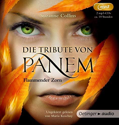Die Tribute von Panem 3: Flammender Zorn (2 mp3 CD)