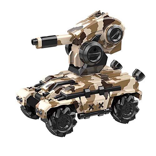 Lecez Coche del Tanque de Control Remoto para niños, el automóvil del Modelo de Batalla Puede lanzar Bombas de Agua El automóvil del Tanque eléctrico se desvía rápidamente, el Barril se Levanta y Las