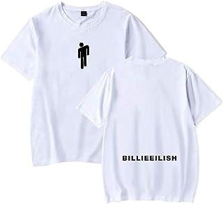 Billie Eilish Donna Navel T-Shirt /& Pantaloncini Cool Street Fashion Tops Hip Pop Maglietta Crop Pantaloncini