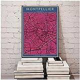 xiongda Frankreich Montpellier Regenbogen Stadtkarten