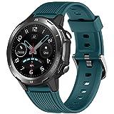 Lintelek Smartwatch Hombre Mujer, Reloj Inteligente con Moni