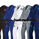 Sanabul Essentials V.2 Ultra Light Pre Shrunk BJJ Jiu Jitsu Gi (Navy, A2) See Special Sizing Guide