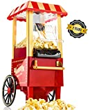 Gadgy ® Machine à Pop Corn | Retro Popcorn Maker | Air Chaud...