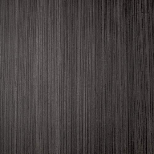 Venilia Klebefolie Perfect Fix Zebrano, Holzfolie, Dekofolie, Möbelfolie, Tapeten, selbstklebende Folie, keine Luftblasen, Natur-Holzoptik dunkel, Stärke: 0,15 mm, 54894