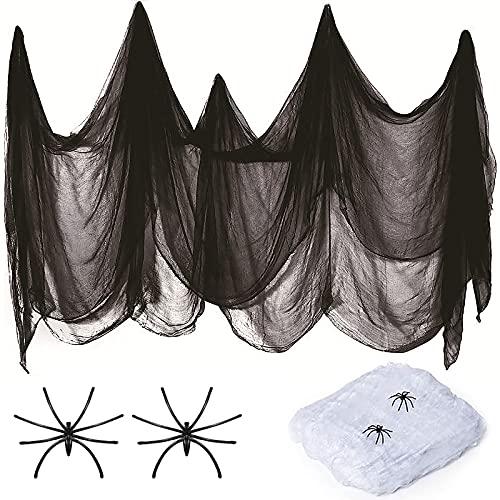 Telaraña de adorno para Halloween -215 x 500 cm